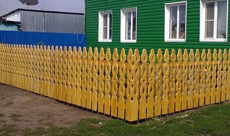 Забор для частного дома своими руками фото 57
