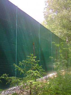 Шумозащитный забор д. Давыдовское